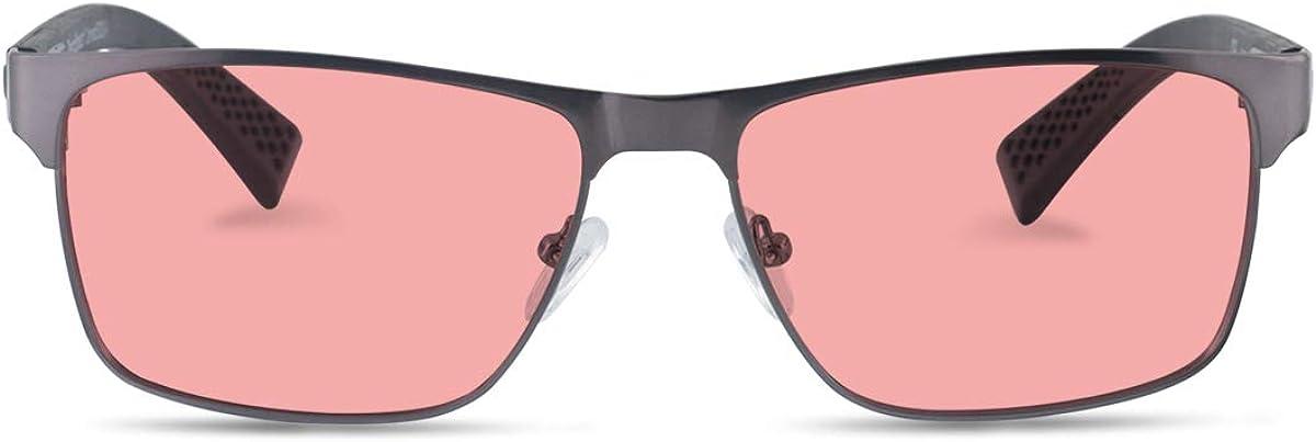TheraSpecs Conrad Blue Light Glasses for Migraine, Light Sensitivity