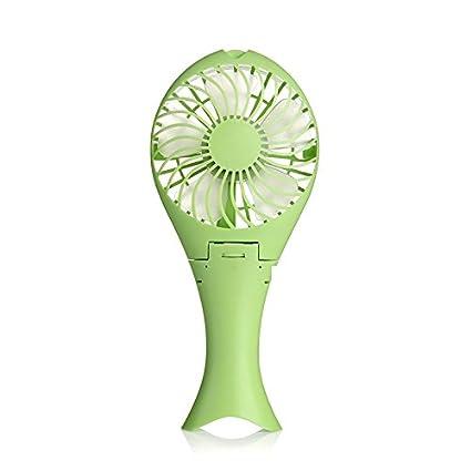 Kika Monkey escritorio ventilador mano Personal Kleine portátil batteriebetriebene Opera Ted Fans con paraguas colgar y