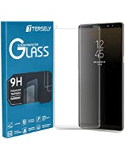 T Tersely Full Coverage Tempered Glass Screen Protector for Samsung Galaxy S8, Film Ultra HD Screen Guard Clear Anti-Scratch [Bubble Free] [Touch Sensitive] [Case Friendly] (Transparent)
