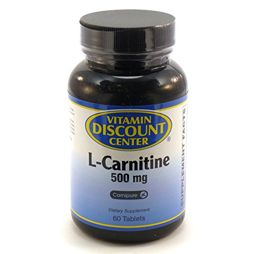L-carnitine 500 Mg By Vitamin Discount Center 60 Tablets