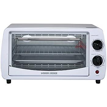 Amazon Com Proctor Silex 4 Slice Toaster Oven White