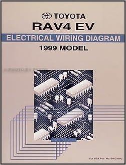 1999 Toyota Rav4 Electric Vehicle Wiring Diagram Manual Original Toyota Amazon Com Books