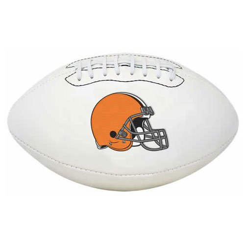 Cleveland Browns Nfl Leather - Rawlings NFL Signature Series Full Regulation-Size Football