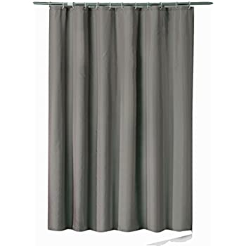 Sfoothome 54 Inch Wide X 78Inch Long Hotel Fabric Shower Curtain Waterproof And Mildew Free Bath