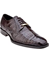 Belvedere Marcello Genuine Crocodile Oxford Shoe