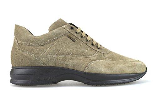 scarpe uomo KEYS 45 EU sneakers beige camoscio AJ152