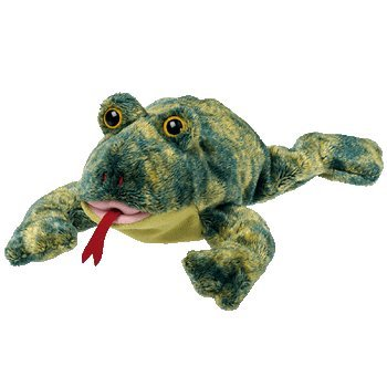 Amazon.com  TY Beanie Baby - CROAKS the Frog  Toys   Games 14f41c89a9f
