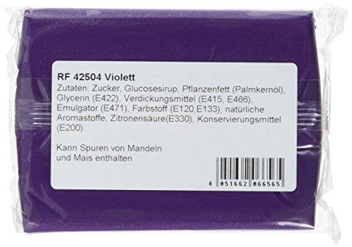Cake Company Fondant violett, 4er Pack (4 x 250 g): Amazon.de ...