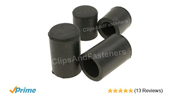 """Fits Cadillac 3//4/"""" Water Pump Heater Core Rubber Hose Caps Blockoff Plugs NOS"""