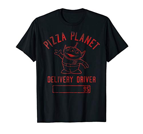 Disney Pixar Toy Story Pizza Planet Delivery Driver T-Shirt (Pizza Driver Delivery)