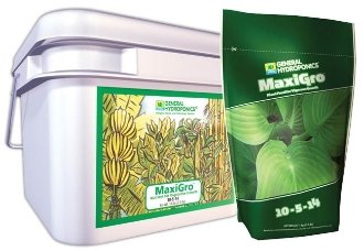 Sunlight Supply General Hydroponics MaxiGro — 10-5-14 Formula, 16-Lb. Tub
