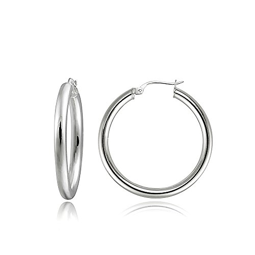 Round Polished Hoop - 2