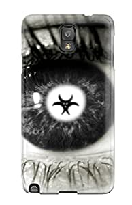 Galaxy Note 3 WHAcpgI5127Uumrs Eye Artistic Abstract Artistic Tpu Silicone Gel Case Cover. Fits Galaxy Note 3