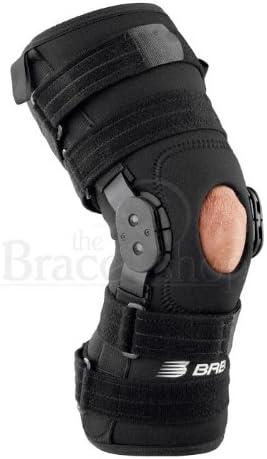 Breg Roadrunner Hinged Knee Brace (Large - Wraparound - Airmesh - Open Back)