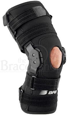 81df499236 Amazon.com: Breg Roadrunner Hinged Knee Brace (Large Wraparound Neoprene  Open Back): Health & Personal Care