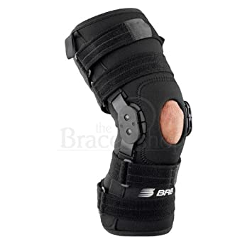 8be1728986 Image Unavailable. Image not available for. Color: Breg Roadrunner Hinged Knee  Brace (Medium - Wraparound ...
