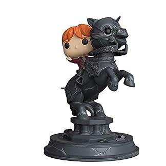 Figurine - Pop Movie Moment - Harry Potter - Ron Riding Chess Piece