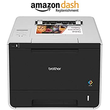 this item brother hll8350cdw wireless color laser printer amazon dash replenishment enabled