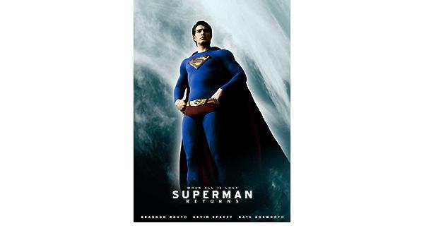 D074 Custom Brandon Routh Superman Returns Movie Star Poster Art Decor