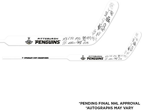 Pittsburgh-Penguins-2016-Stanley-Cup-Champions-Autographed-Sher-wood-Replica-Goalie-Stick-with-Multiple-Signatures-Limited-Edition-of-16-Fanatics-Authentic-Certified