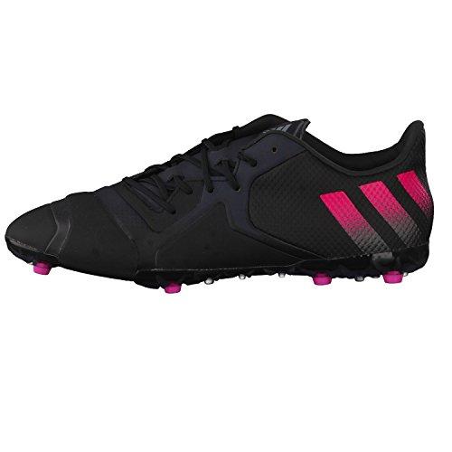 adidas Ace 16+ Tkrz, Botas de Fútbol para Hombre Negro / Rosa / Gris (Negbas / Rosimp / Griosc)
