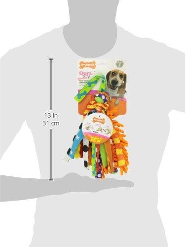 Nylabone Interactive Medium Happy Moppy Dog Chew Toy by Nylabone (Image #3)'