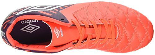 Chaussures Coral Medusæ II Winter Rouge de Club Umbro Bloom Football Homme HG White Fiery nIqAOOx6d