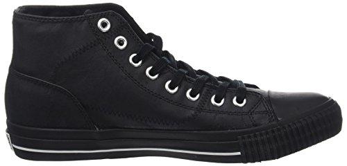 Blanc Sneaker Curseur Hommes Noir Haute Britanniques Chevaliers noir KU7q8Hw0Bn