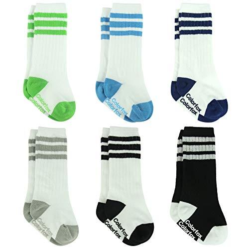 6-12 Months Socks, Colorfox Toddler Baby Boys Girls