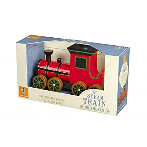 Orange Tree Toys Wooden Steam Pull Along Train