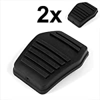 1 Pair Brake Clutch Pedal Pad Rubber Pad Cover Direct Replacement for Ford Transit MK6 MK7 2000-2014 Car Accessories