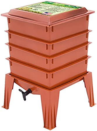 Worm Factory 360 WF360T Worm Composter, Terracotta