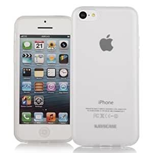 KAYSCASE Slim Soft Gel Cover Case for Apple iPhone 5C Smartphone Cell Phone (Clear)