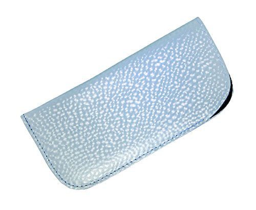 Slip In Eyeglass Case For Women, Soft Glasses Case with Pearly Finish- - Vinyl Scratch Sunglasses