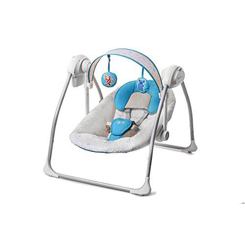 kinderkraft silla hamaca hamaca Swing (azul, Nani) azul