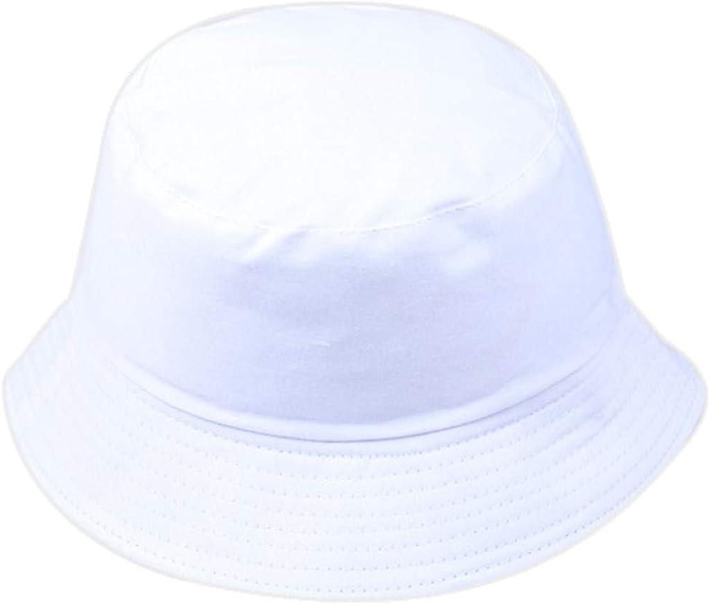 LEEDY Damen M/änner Unisex Fischerhut Mode Wilde Sonnenschutzkappe Im Freien Sonnenhut Wandern Faltbar Einfarbig