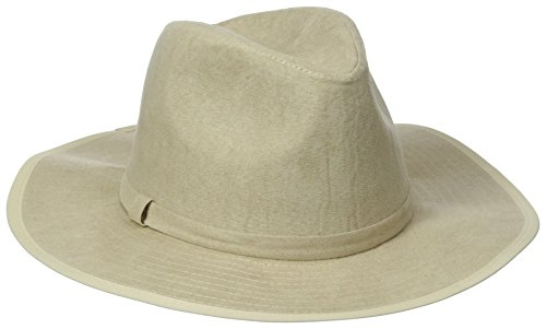 Collection XIIX Women's Faux Suede Panama Hat Bone k16wNWgwCW