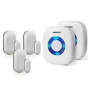 Amazon Com Physen Wireless Door Window Sensor Chime Kit