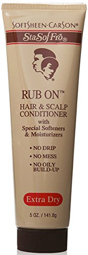 Sta-Sof-Fro Rub On Hair & Scalp Conditioner Extra Dry 5 oz