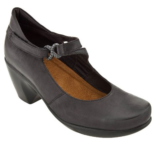 Naot Womens Perfect Black Leather - 9 B(M) US by NAOT