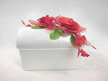 Lollipop Rosengirlanden Truhe Rot Mit Dekoration Z B Fur