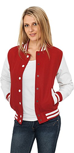 Urban Classics Ladies Oldschool College Jacket Multicolor