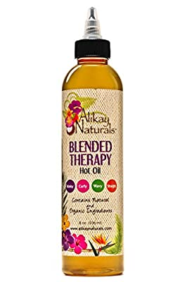 Alikay Naturals Blended Therapy Hot Oil Treatment - 8 ounce