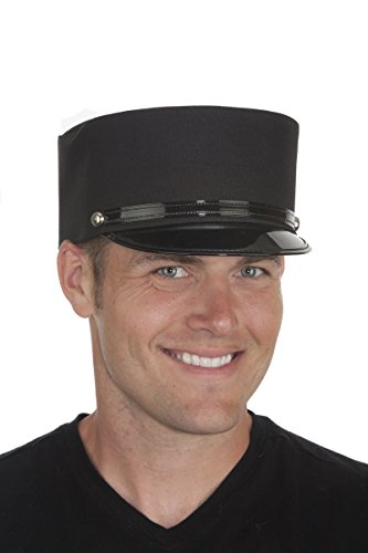 Black Conductor (Endless Road 17356 (Large 7 1/2, Black) Conductor Hat)