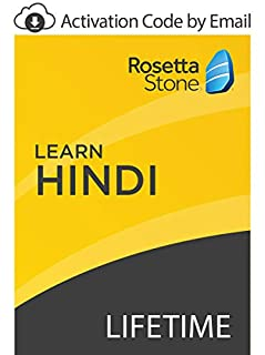 Rosetta Stone: Learn Hindi with Lifetime Access on iOS, Android, PC, and Mac [Activation Code by Email] (B07GK1Z5FB) | Amazon price tracker / tracking, Amazon price history charts, Amazon price watches, Amazon price drop alerts