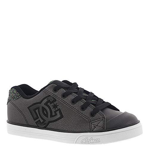 DC Girls Youth Chelsea SE Skate Shoes, Black Multi 5.5 M US Big - Chelsea Shoes Dc Kids