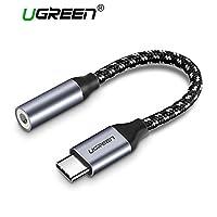Aukuo Ugreen Type-C to 3.5Mm Jack Earphone Cable USB C Headphone Audio Adapter Huawei