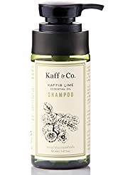 Kaffir Lime Essential Oil Anti Dandruff Shampoo – Non Toxic Hair & Scalp Care | Natural Treatment for Dandruff, Flaking, Itchy & Dry Scalp | No Paraben, No SLS / SLES