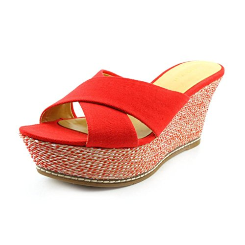 Nine West - Sandalias de vestir de Material Sintético para mujer Red