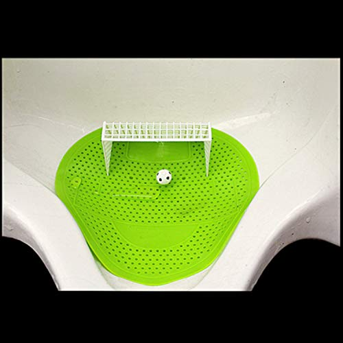 10 Pack Bathroom Football Shoot Style Urinal Screen tulip Fragrance Scent Mat